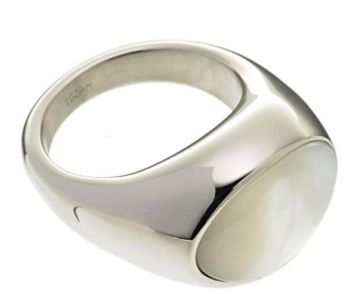 Breil Ladies Duplicity Stainless Steel Ring  TJ1013-NEW
