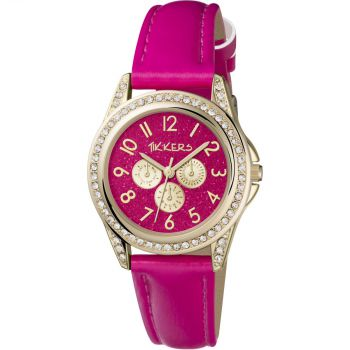 NB Tikkers Childrens Gold Plated Watch  TK0130-TNP